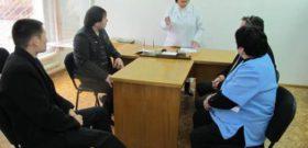 Передача кроватей и шкафов детской туберкулезной больнице №1