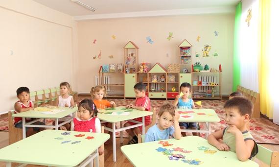 детский садик в Бишкеке