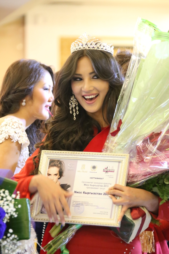 Конкурс красоты в Бишкеке