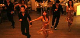 Новогоднее танцевальное шоу в стиле латино!