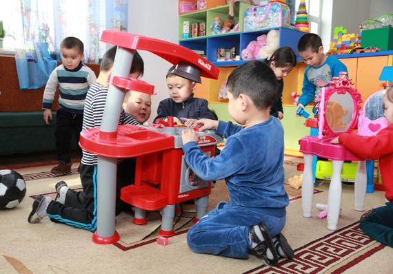 Самый большой частный детский сад в Бишкеке