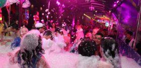Закрытие пенной вечеринки в НК » Ретро-Метро»