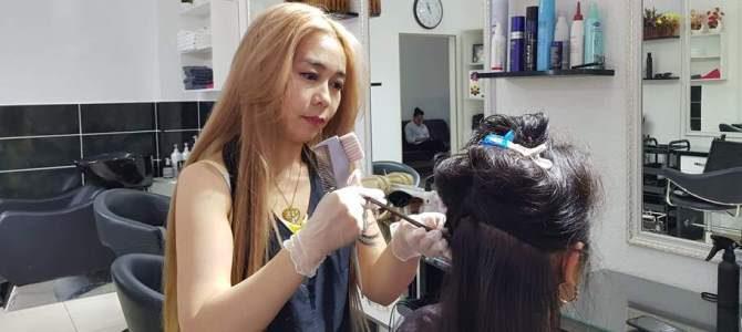 Сложная покраска волос