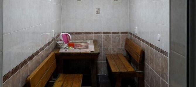 Семейная баня на дровах